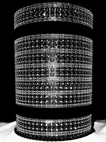 Sample 1 Glitzer Urne
